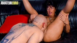 AMATEUR EURO – Mature Wife Jenny K. Gets Pussy Licked And Hard Fucked By Husband