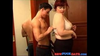 BBW Mature Woman and y. Boy