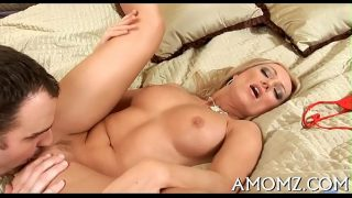 Charming mature in a wild play hot pussy penetration