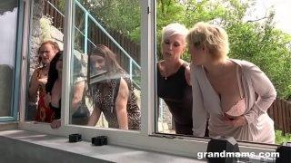 GrandMams 20.08.18 Granny Gym Orgy 720p