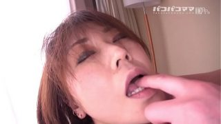 horny mature mom plays with pussy and son cant stand anymore and fucks her