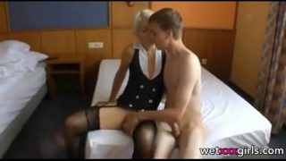 Husband Filming Mature Wife With Young Boy Fuck