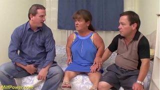 mature midget first threesome