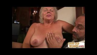 Old kinky married couple on sex vacation