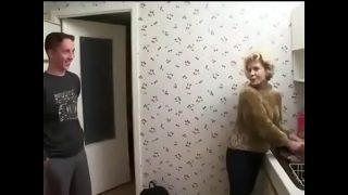 Russian guy fucks his mother in law She is still in juice xxx