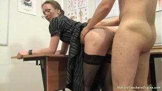 Russian mature teacher 12 – Elena (anathomy lesson)