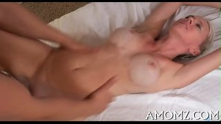 Tight pussy Mature babe moans and gets off