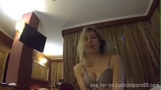 Wife lets her friend fuck her cuckold